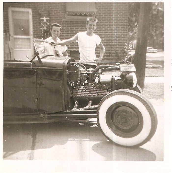 Features - 1950's Period Correct Hot Rods.